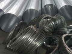 厂家介绍不锈钢焊接风管!