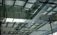 镀锌风管和普通的通风管道区别点